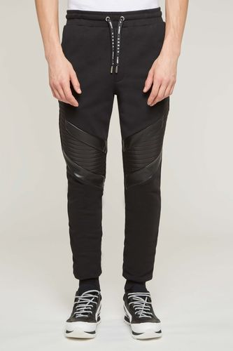 Jogging Pants with Padding Detail
