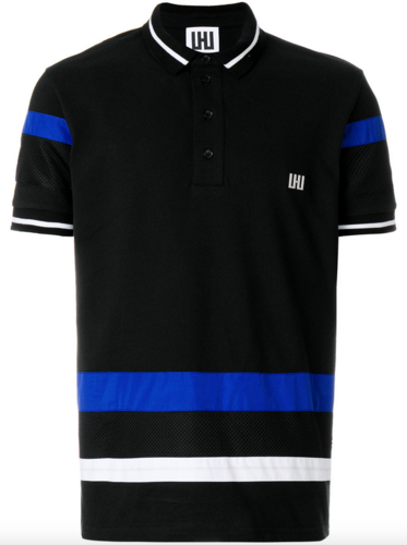Polo Oversize with Contrast cut